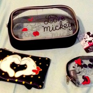 Bag cosmetics small Mickey Mouse